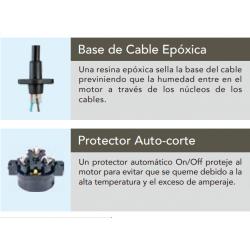 BASE DE CABLE EPOXICA - PROTECTOR AUTOCORTE